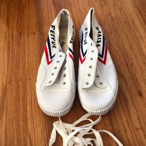 Men Feiyue sneakers size 12.5 US New